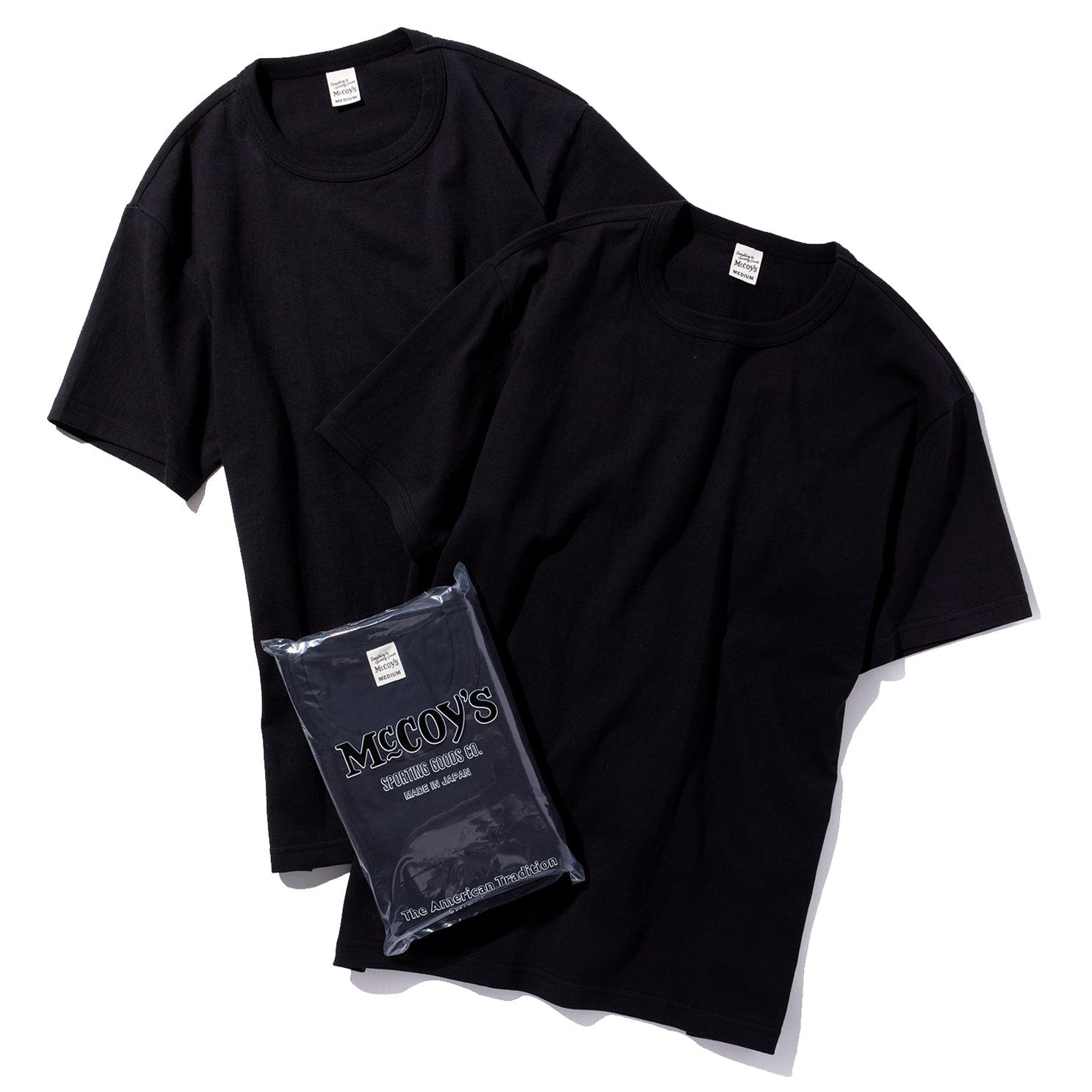 McCOY'S 2pcs PACK TEE