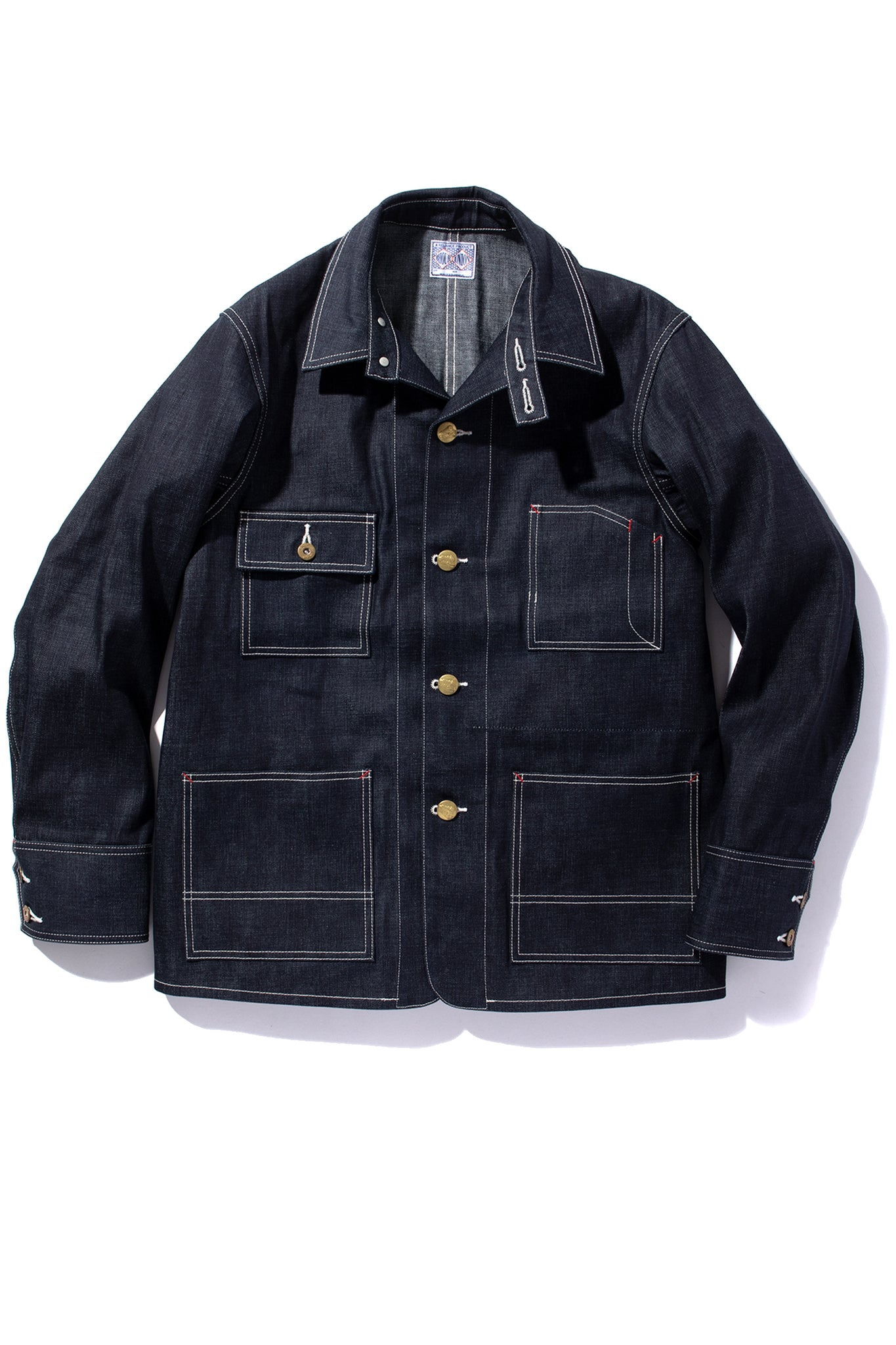 8HU DENIM CHORE COAT