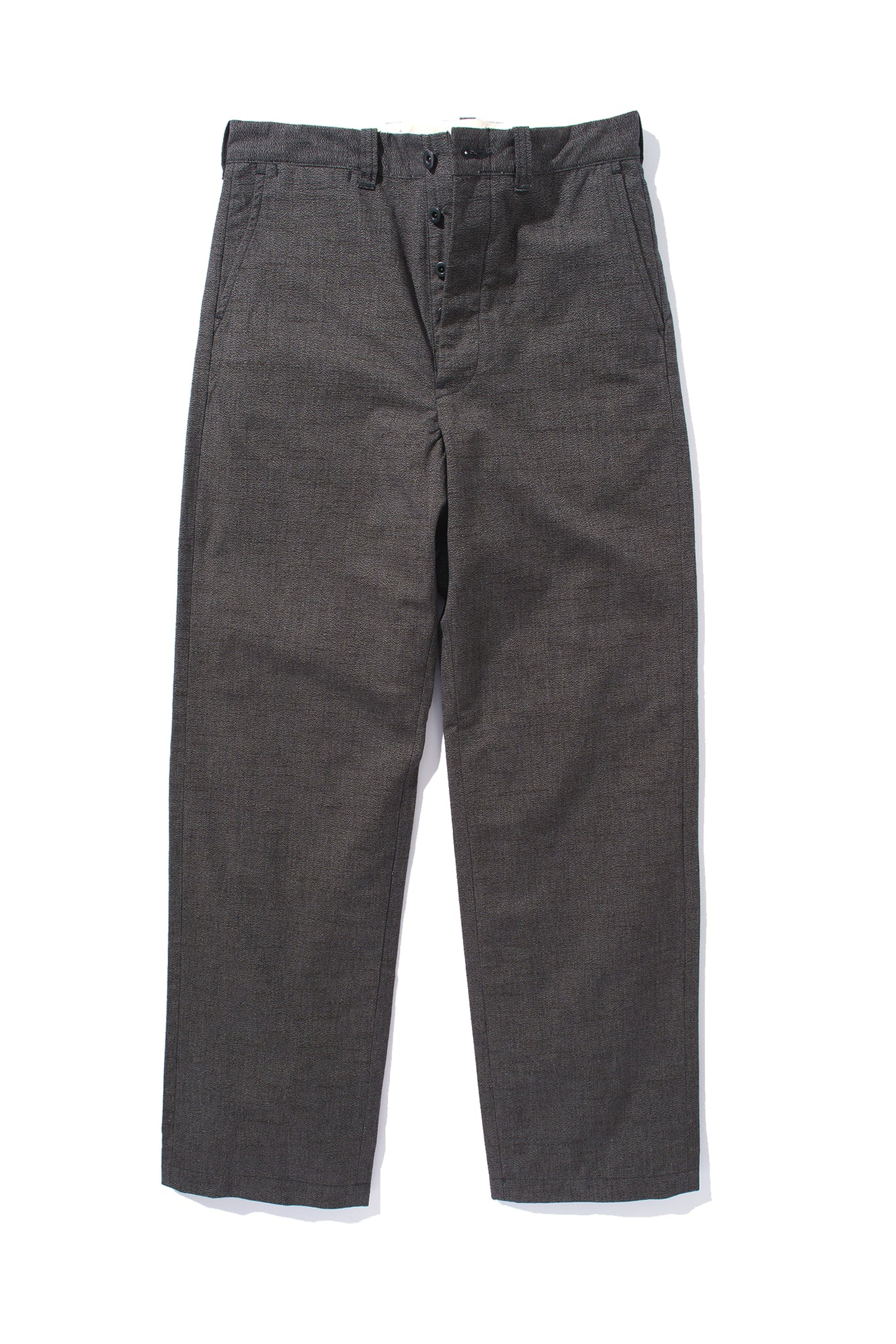 8HU CHAMBRAY TROUSERS