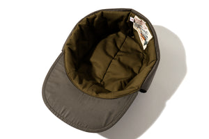 NYLON QUILTED DOWN CAP