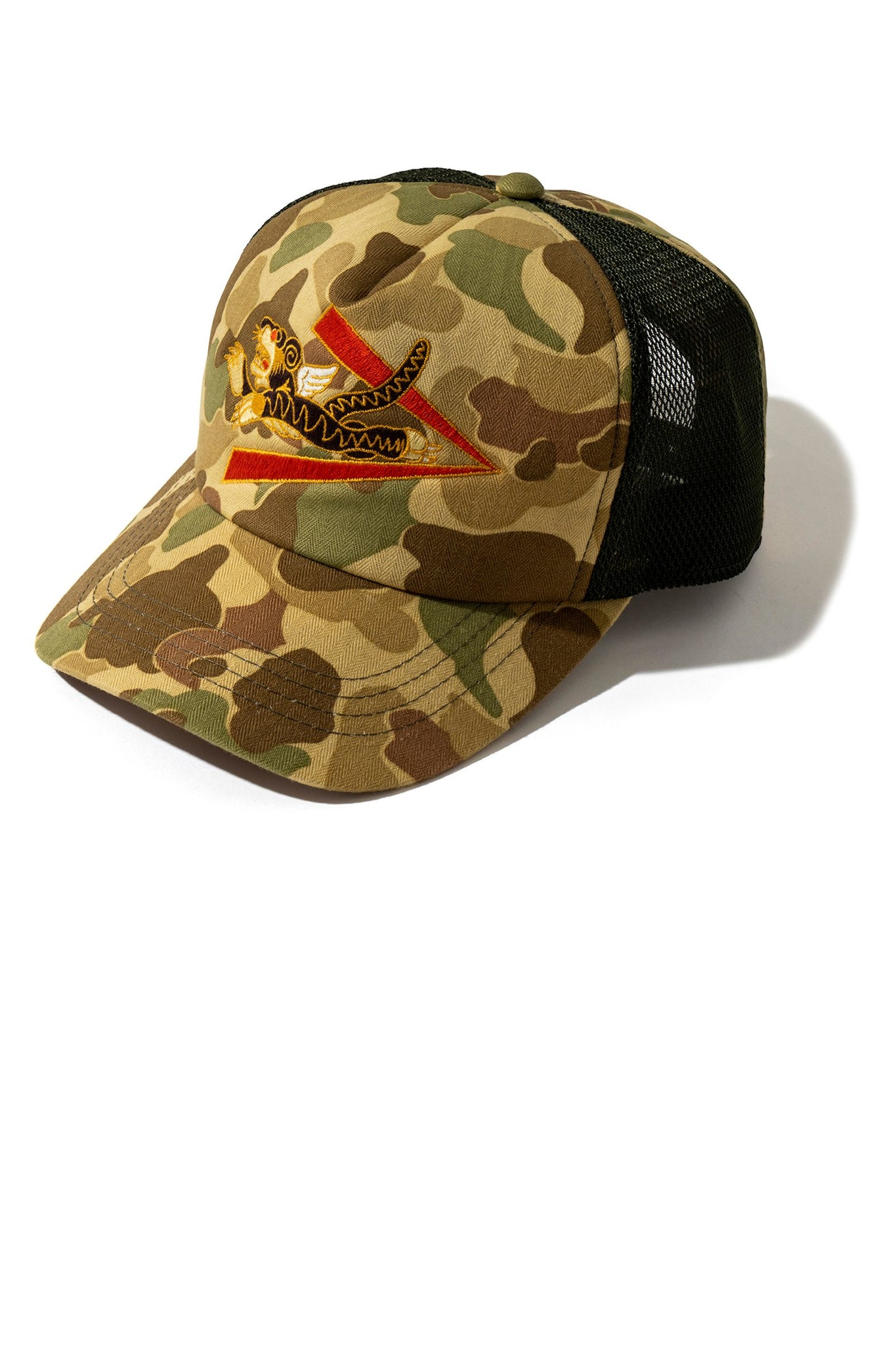 FLYING TIGERS CAMOUFLAGE MESH CAP