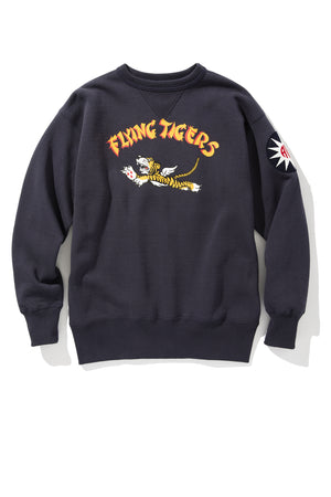 MILITARY PRINT SWEATSHIRT / FLYING TIGERS