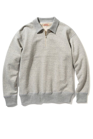 9oz. LOOPWHEEL QUARTER-ZIP SWEATSHIRT
