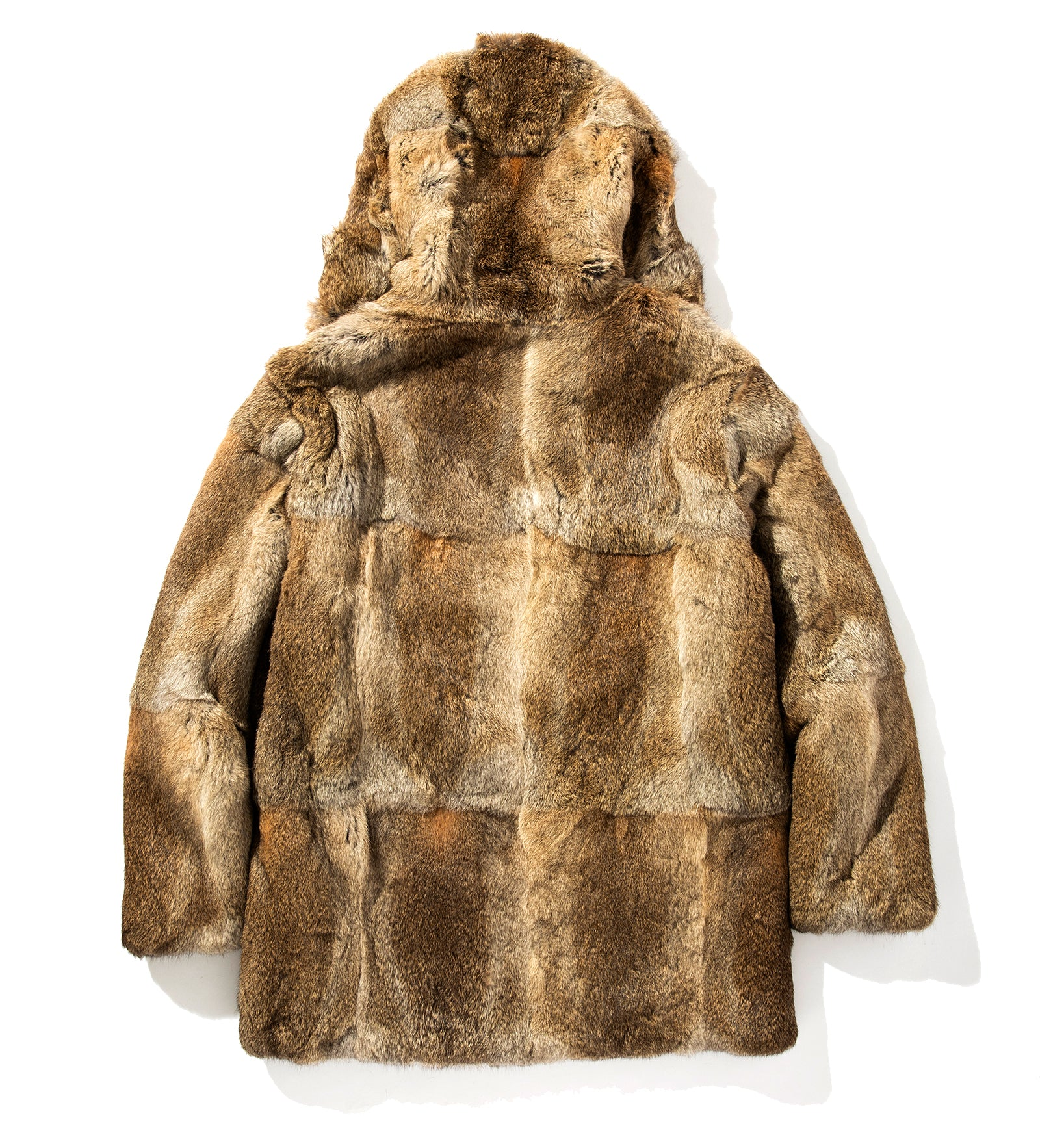 YETI HOODED FUR COAT