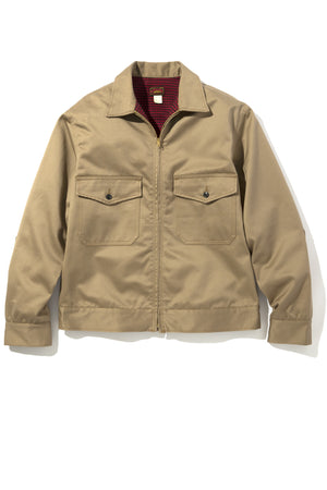 8HU HEAVY COTTON DRILL F/Z WORK JACKET