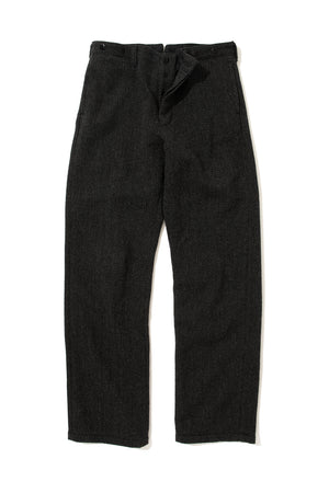 DOUBLE DIAMOND HBT WOOL TROUSERS