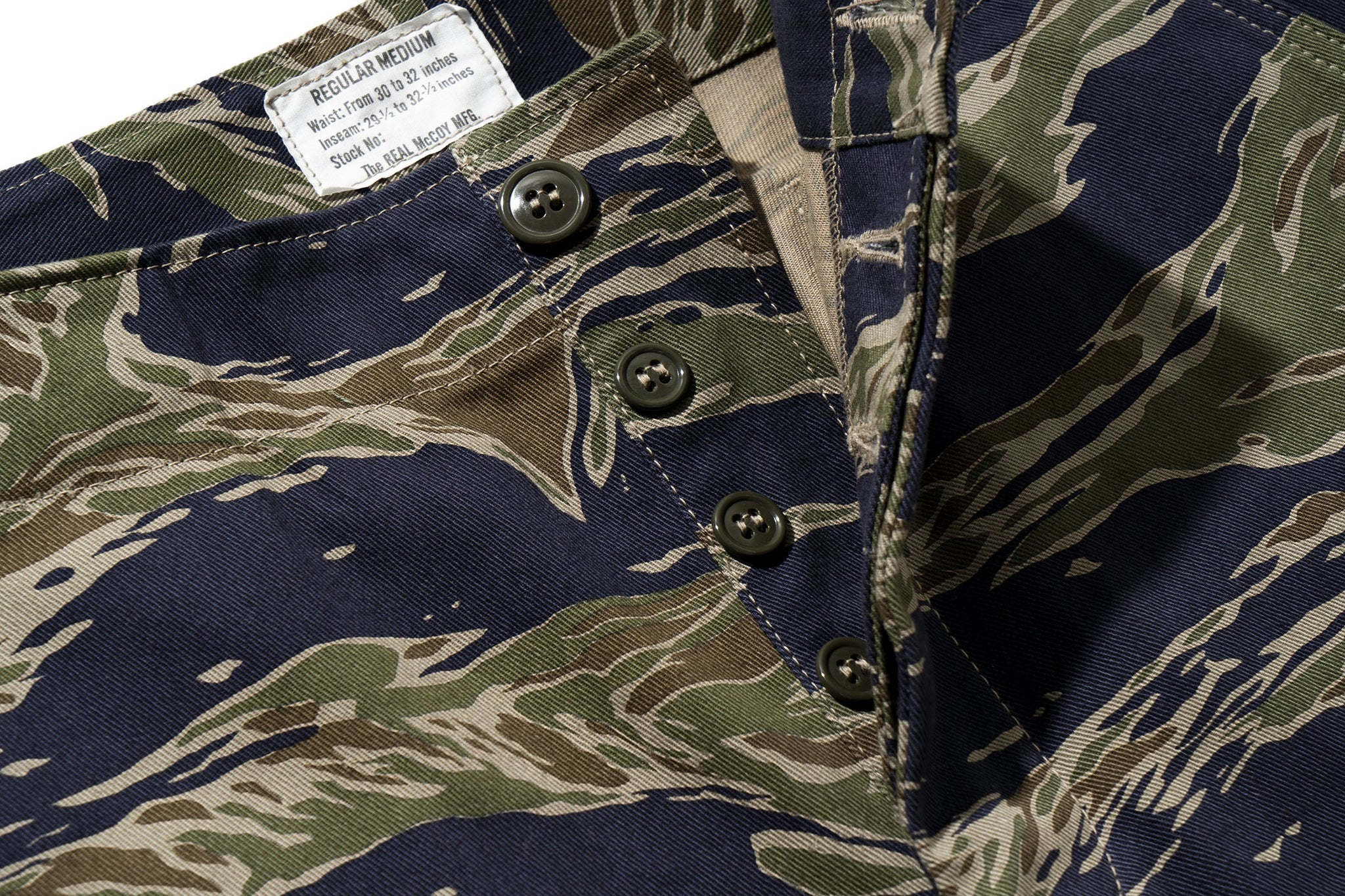 TIGER CAMOUFLAGE SHORTS / TADPOLE