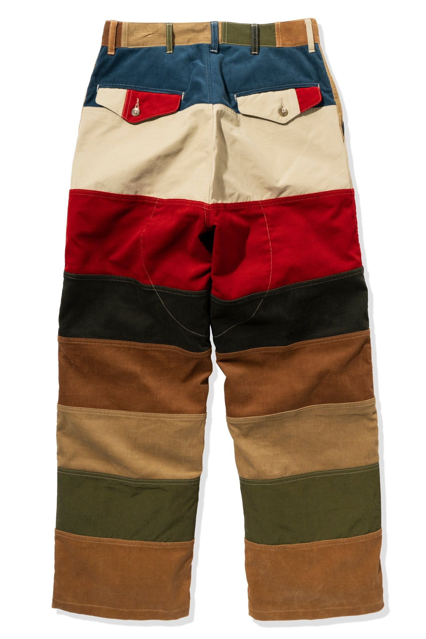 MULTICOLOR CORDUROY HUNTING TROUSERS