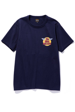 THE REAL McCOY'S LOGO TEE S/S