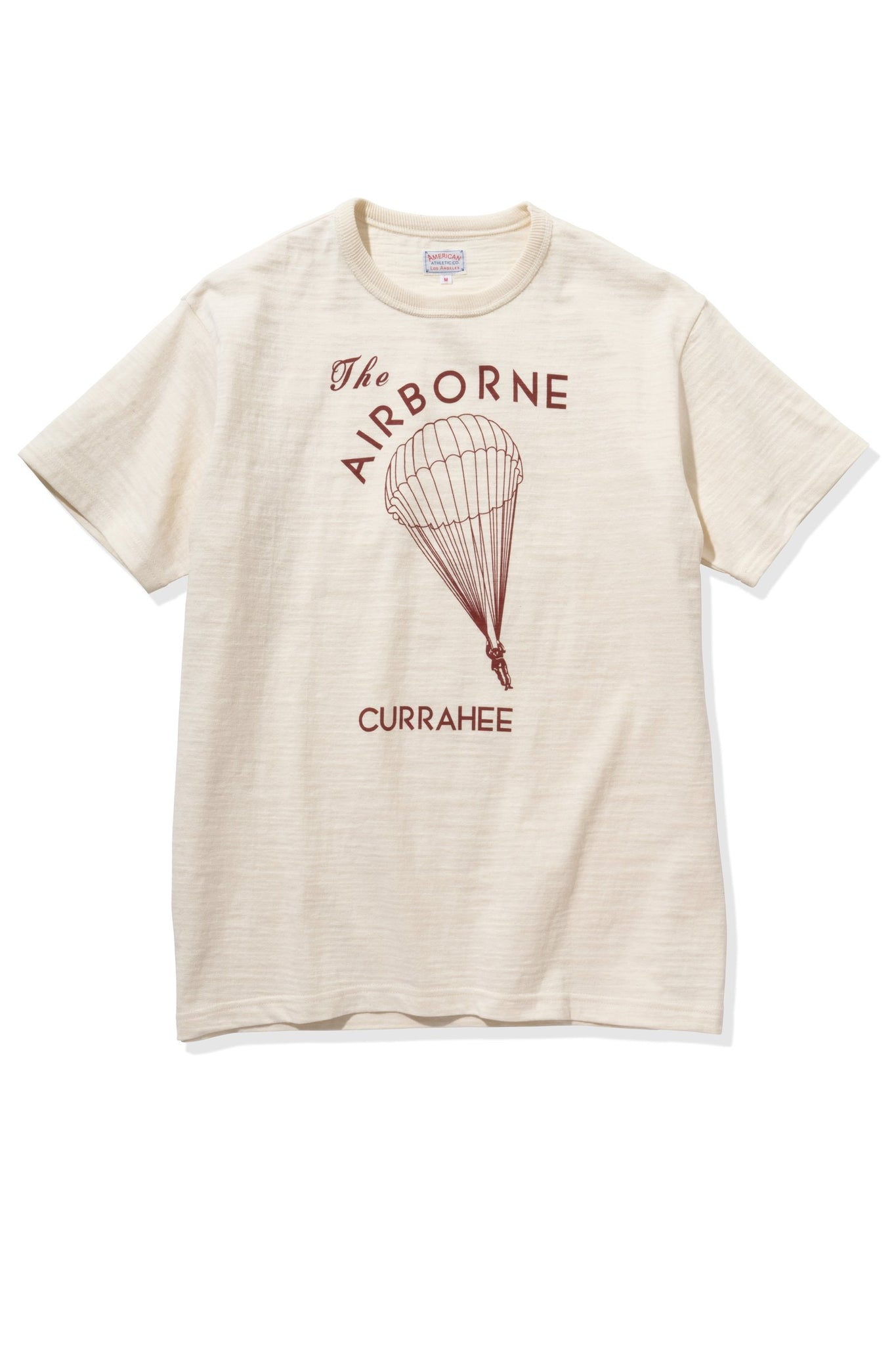 AMERICAN ATHLETIC TEE / THE AIRBORNE CURRAHEE
