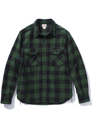 8HU BUFFALO CHECK FLANNEL SHIRT