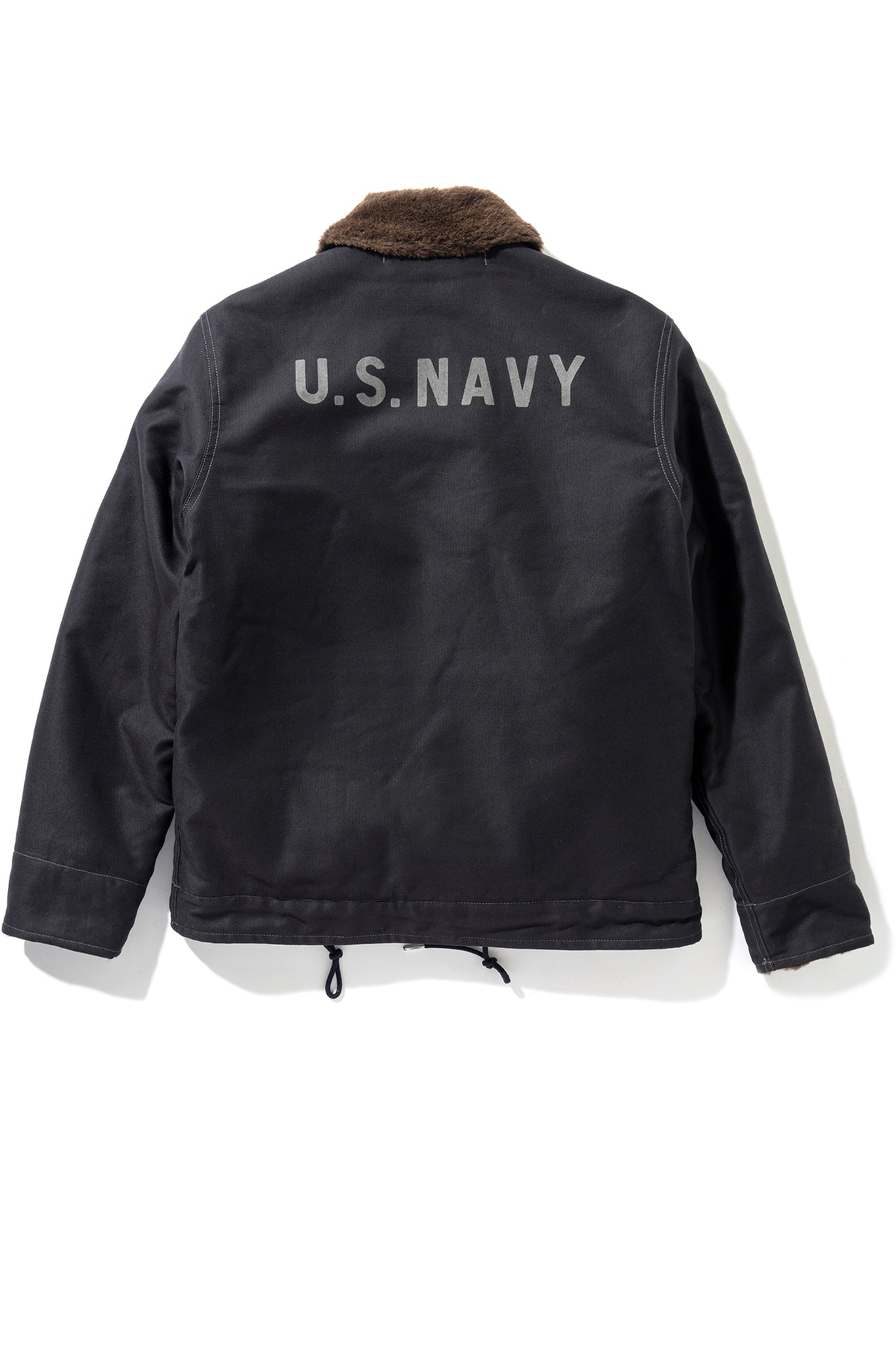 N-1 DECK JACKET (NAVY STENCIL)