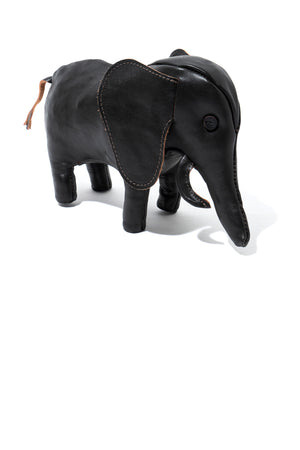 HANDCRAFTED HORSEHIDE ANIMALS - ELEPHANT