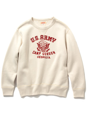 MILITARY PRINT SWEATSHIRT / CAMP GORDON