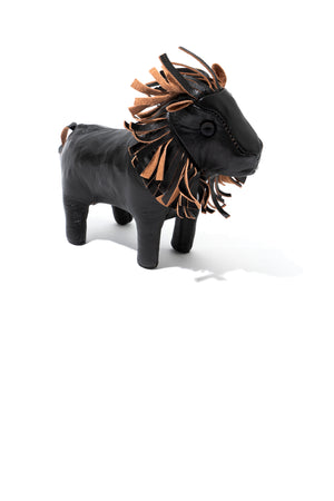 HANDCRAFTED HORSEHIDE ANIMALS - LION