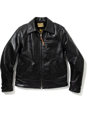 30s LEATHER SPORTS JACKET / NELSON
