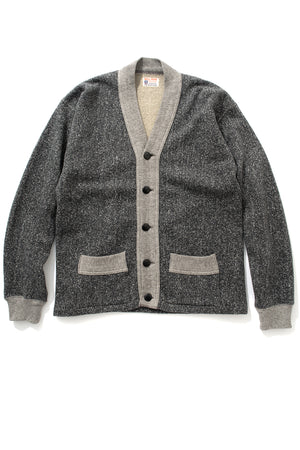 SALT & PEPPER COTTON CARDIGAN