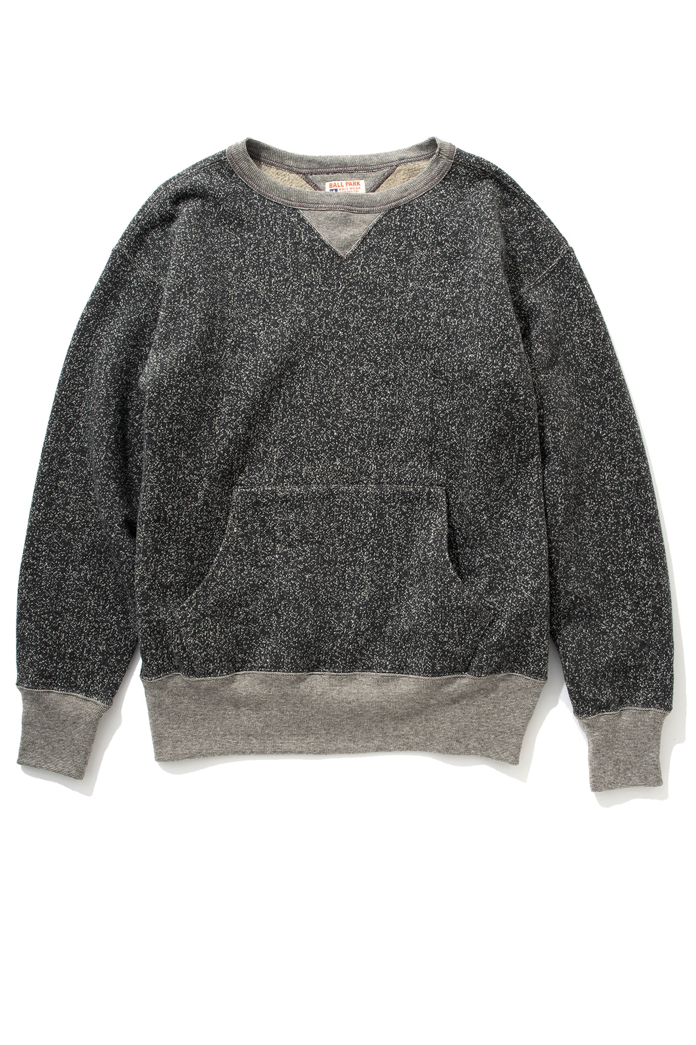 SALT & PEPPER CREWNECK SWEATSHIRT