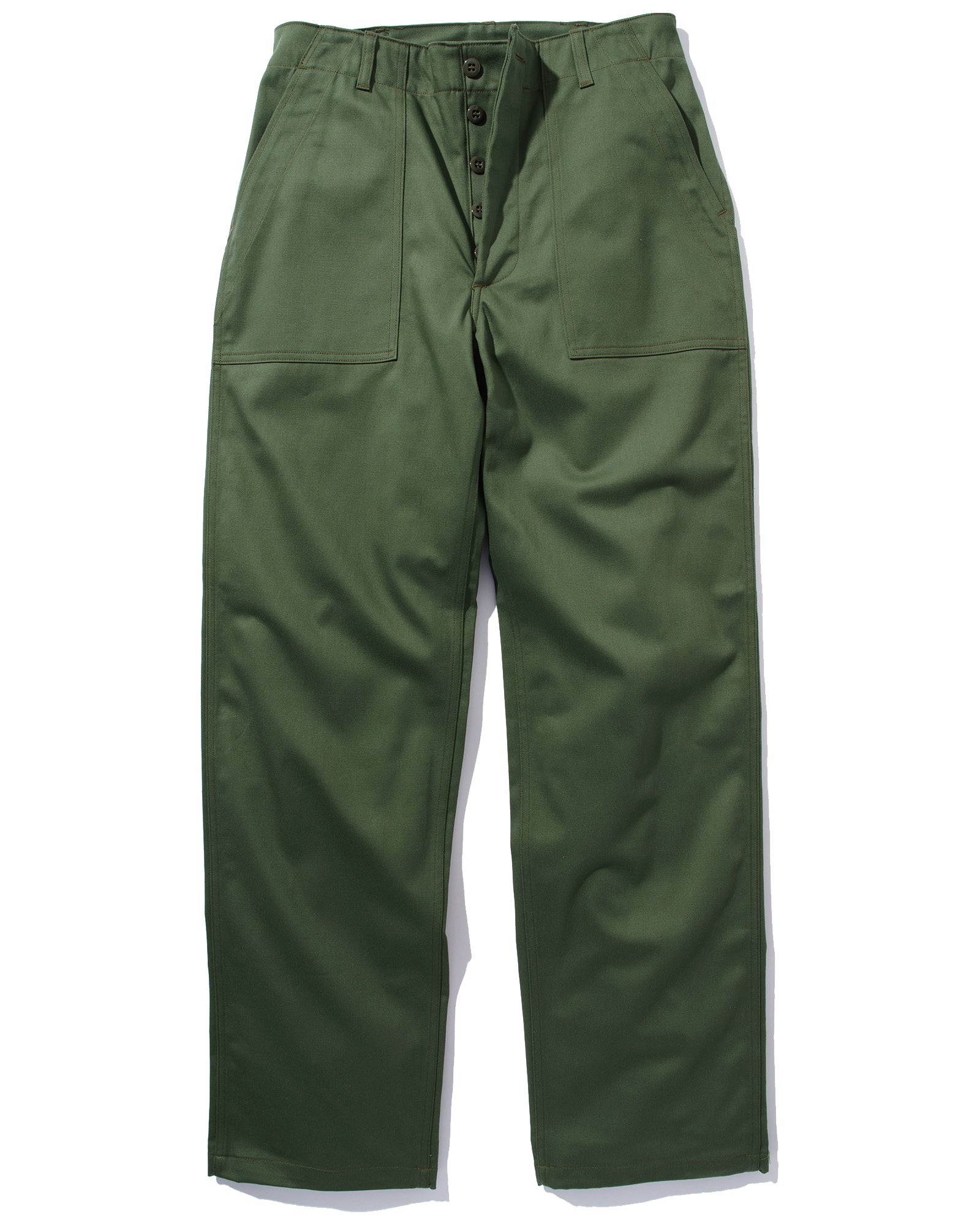 TROUSERS, MEN'S COTTON SATEEN