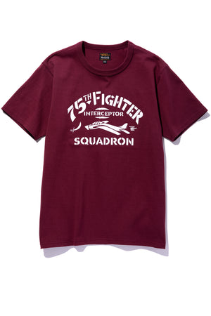 MILITARY TEE / 75th FIGHTER SQUADRON