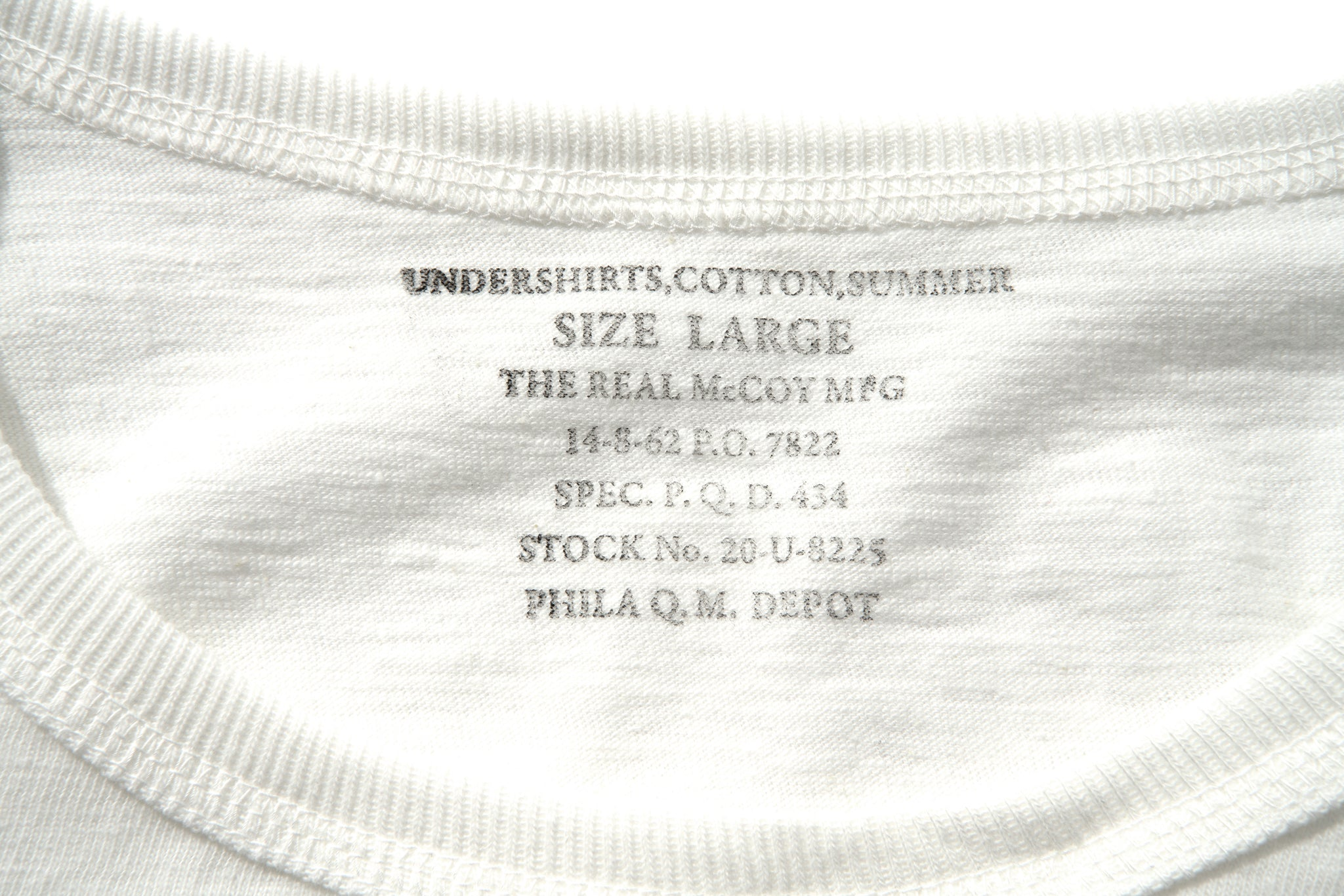 UNDERSHIRTS, COTTON, SUMMER