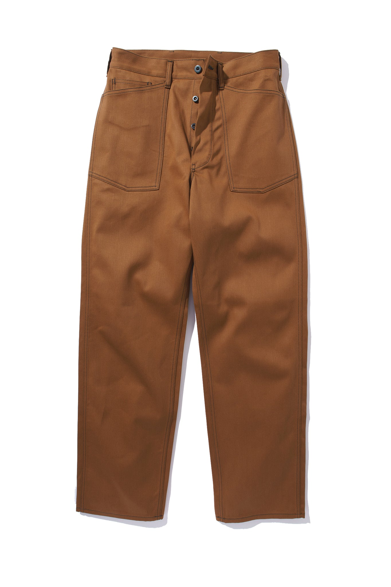 WW1 BROWN FATIGUE TROUSERS