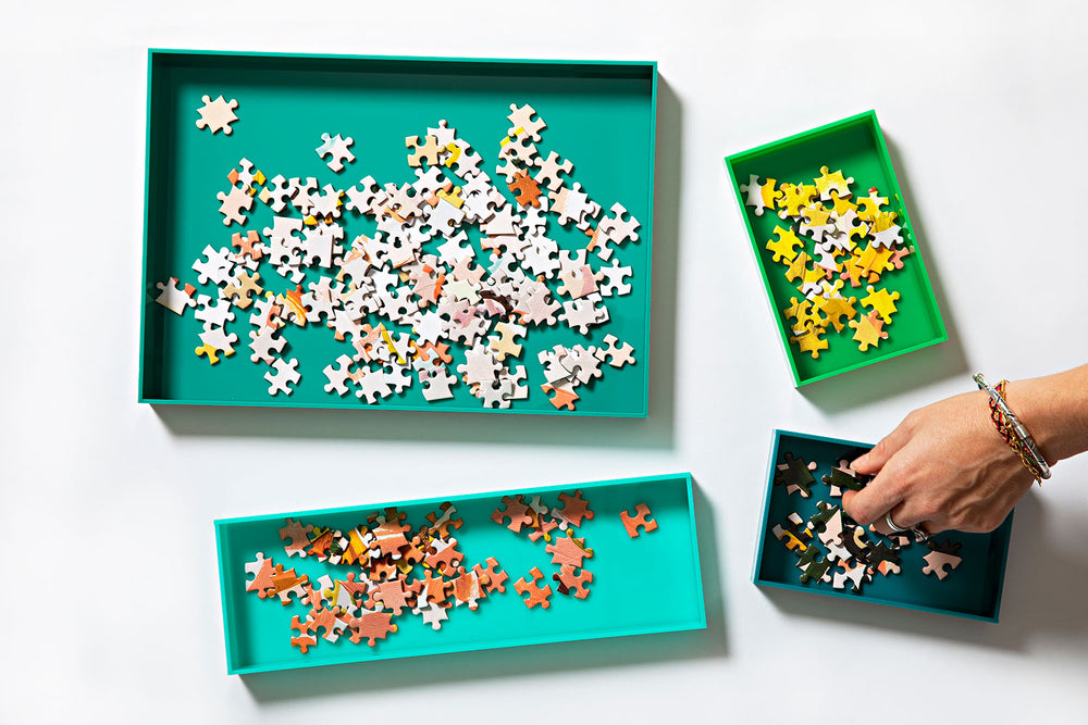 Jigsaw Puzzle Trays by Journey of Something
