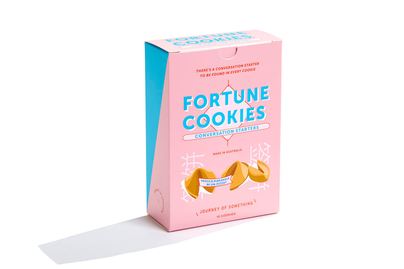 Conversation Starter Fortune Cookie Box