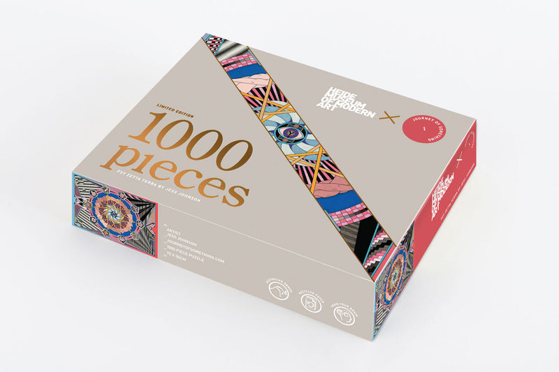 LIMITED EDITION: 1000 Piece Puzzle - Psy Zetta Terra