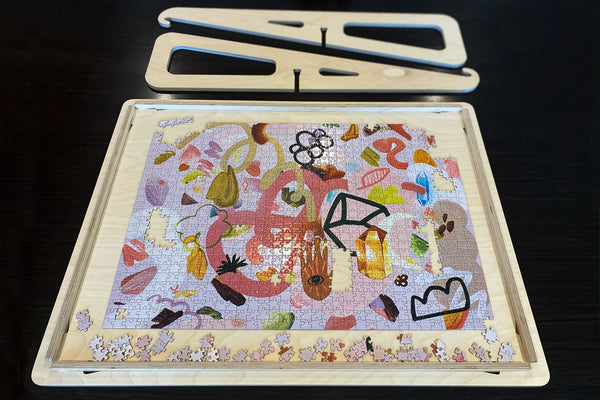 mod podge puzzle glue | mini puzzle | 500 piece jigsaw puzzle Australia | how to frame a puzzle | cool puzzles for adults