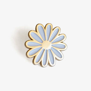 Daisy Pin + Post Card