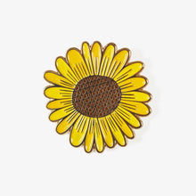 Load image into Gallery viewer, Sunflower Pin + Post Card
