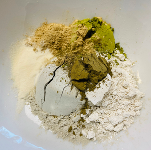 Kijani Detoxifying Green Tea Clay Mask