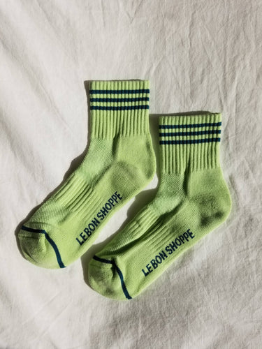 Girlfriend Socks - Pistachio