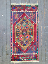 Load image into Gallery viewer, Tiny Hand-woven Turkish Rug #15