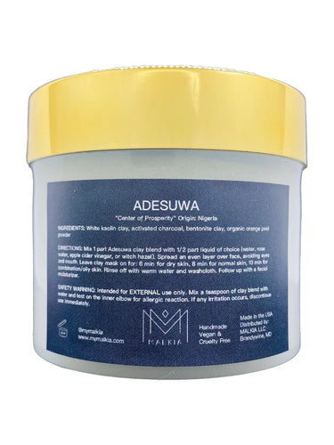 Adesuwa Detoxifying Charcoal Clay Mask