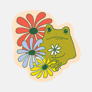 Froggy Sticker