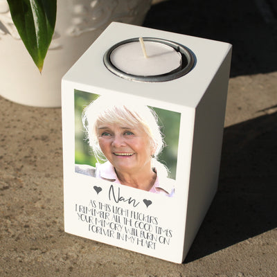 Photo Memorial Tealight Holder