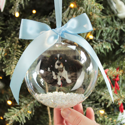 Any Photo Christmas Bauble
