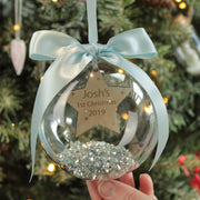 Star Baby's 1st Christmas Bauble