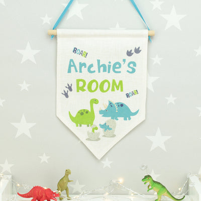 Dinosaur Wall Hanging Flag