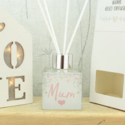Personalised Floral Name Reed Diffuser