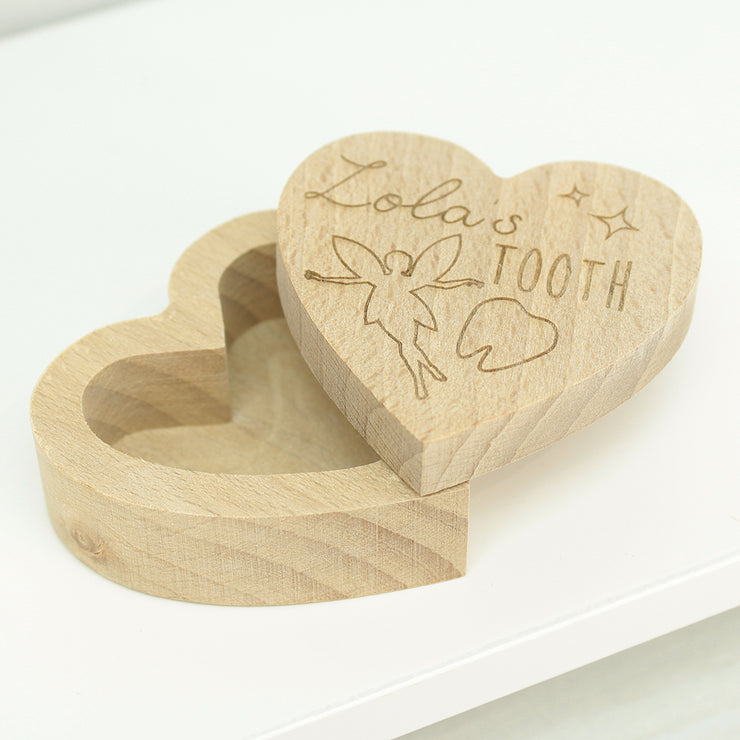 Personalised Tooth Fairy Box - Fairy