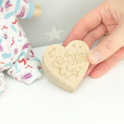 Personalised Tooth Fairy Box - Flying Tooth