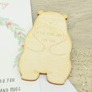 'Bear Hug in your Pocket' Token and Card