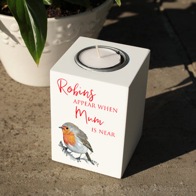 Robin Memorial Tealight Holder