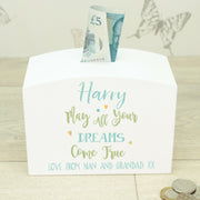 Dreams Come True Baby Money Box