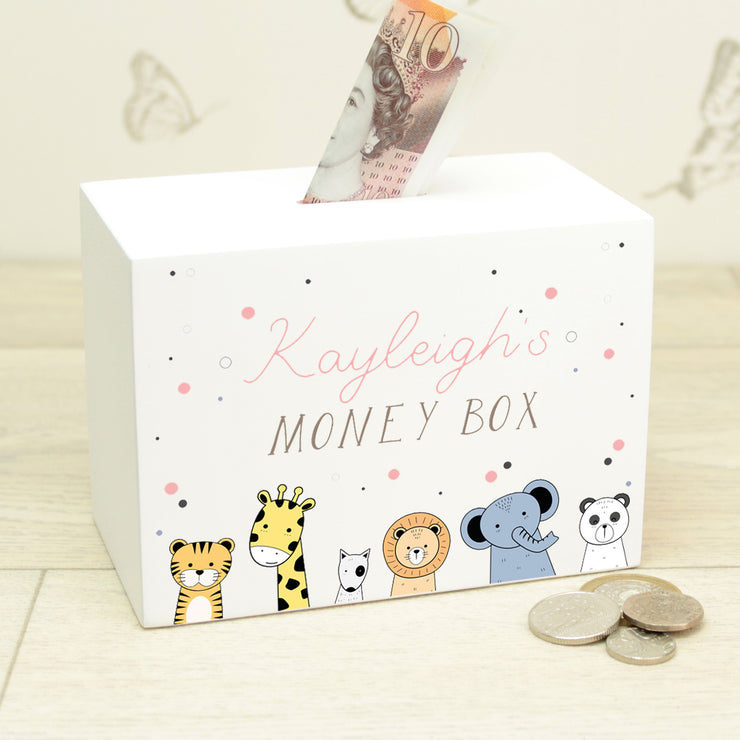 Cute Animals Baby Money Box