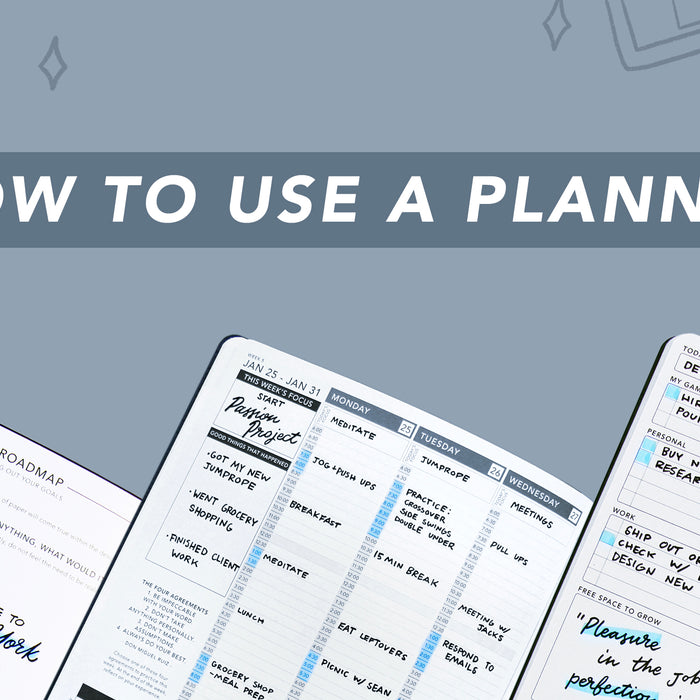 How to Use a Planner: 9 Easy Steps to Making the Most of Your Paper Planner