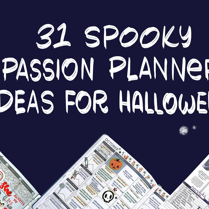 31 Spooky Passion Planner Ideas for Halloween